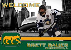 Bauer Joins Cougars for 2019-2020 Season
