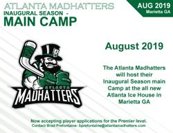 Atlanta Madhatters Announce Main Camp in August